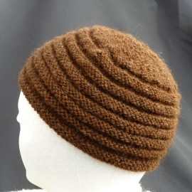 Roll Garter Stitch Hat