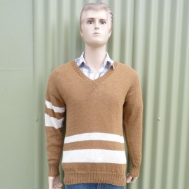 Men's V Neck Jumper