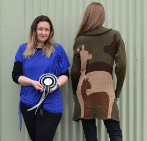 kellie-with-winning-garment