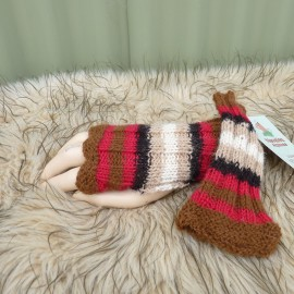 Stripe Mitts