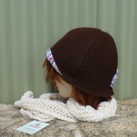 Felted Eliza Hat