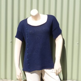 Side Front Buttoned Tunic